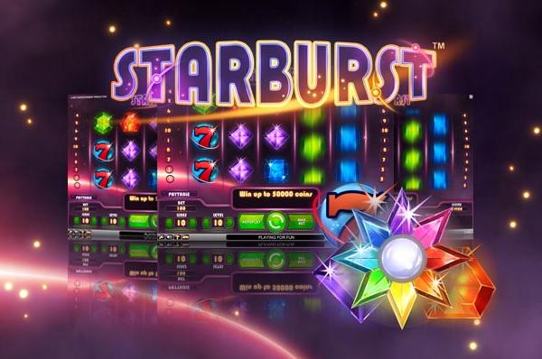 Starburst fra NetEnt – Spill gratis på nett med en gang